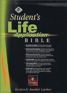 NLT Students Life Application Bible Revised Burgundy Indexed Bonded Leather
