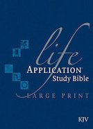 KJV Life Application Study Large Print (Red Letter Edition) Hardback