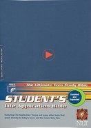 NLT Students Life Application Bible Blue (2005) Hardback