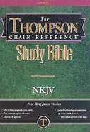 NKJV Thompson Chain Reference Index Hardback