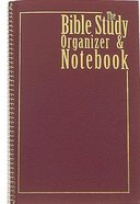 The Bible Study Organizer and Notebook Spiral