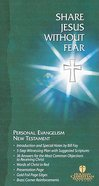 HCSB Share Jesus Without Fear Evangelism New Testament (Red Letter Edition) Bonded Leather