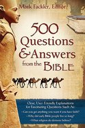 500 Questions and Answers From the Bible Paperback