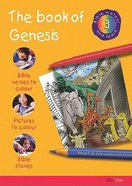 The Book of Genesis (#03 in Bible Colour And Learn Series) Paperback