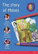 The Story of Moses (#05 in Bible Colour And Learn Series) Paperback