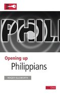 Philippians (Opening Up Series) Paperback