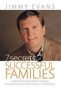 7 Secrets of Successful Families Paperback