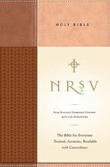 NRSV Standard Bible With Concordance and Apocrypha Tan/Brown Duo Tone