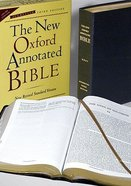NRSV New Oxford Annotated Thumb-Indexed Black