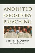Anointed Expository Preaching Paperback
