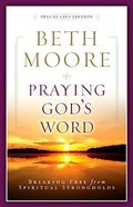 Praying God's Word (Deluxe Edition) Bonded Leather