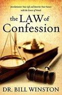 The Law of Confession Hardback