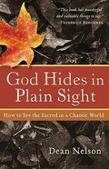 God Hides in Plain Sight Paperback