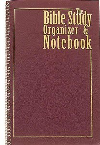 The Bible Study Organizer and Notebook