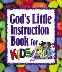 Gods Little Instruction Book For Kids (Mini)