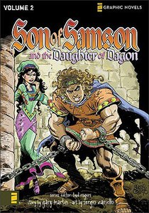 The Daughter of Dagon (Z Graphic Novel) (#02 in Son Of Samson Series)