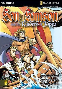 The Raiders of Joppa (Z Graphic Novel) (#04 in Son Of Samson Series)