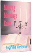 Making Marriage Easy