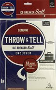 Throw & Tell Ball: Ice-Breakers Novelty