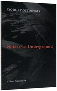 Notes From Underground Paperback