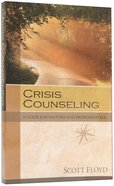 Crisis Counseling Paperback