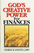 God's Creative Power For Finances (Single) Booklet
