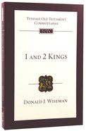 1&2 Kings (Re-Formatted) (Tyndale Old Testament Commentary Re-issued/revised Series) Paperback