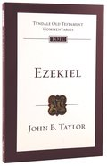 Ezekiel (Tyndale Old Testament Commentary (2020 Edition) Series) Paperback