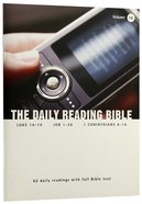 Luke 16-19, Job 1-26 and 1 Corinthians 8-16 (#16 in Daily Reading Bible Series) Paperback