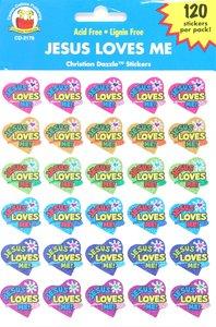 Sticker Pack: Jesus Loves Me