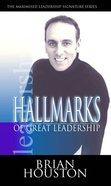 Hallmarks of Great Leadership (2 Cds) CD