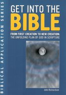 Get Into the Bible Booklet
