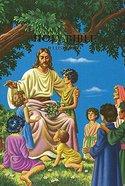 KJV Children's Rainbow Illustrated Bible Zipper Hardback