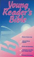 KJV Young Reader's Illustrated Red Zipper Imitation Leather