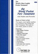 KJV Baby's First Gift New Testament Bible With Psalms & Proverbs White Imitation Leather