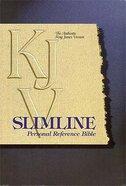 KJV Slimline Reference Blue Index Bonded Leather