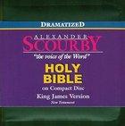 KJV Scourby New Testament on CD Dramatized Black Zipper Pack CD