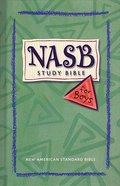 NASB Study Bible For Boys (Nasb 1995 Update) Hardback