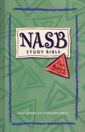 NASB Study Bible For Boys Indexed (Nasb 1995 Update) Hardback
