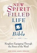 NKJV New Spirit Filled Life Bible Black Bonded Leather
