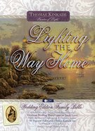 NKJV Lighting the Way Home Family Bible White Wedding Edition Bonded Leather