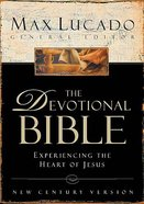 Ncv the Devotional Bible Max Lucado Burgundy Bonded Leather