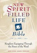NKJV New Spirit Filled Life Bible Black Indexed Genuine Leather