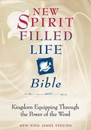 NKJV New Spirit Filled Life Bible British Tan Indexed Genuine Leather