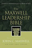 NKJV the Maxwell Leadership Bible Hardback