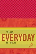 Ncv Everyday Bible Red Linen Imitation Leather