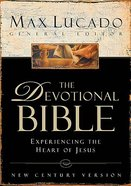 Ncv the Devotional Bible Max Lucado Black Bonded Leather