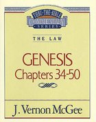 Thru the Bible OT #03: Genesis (Volume 3) (#03 in Thru The Bible Old Testament Series) Paperback