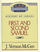 Thru the Bible OT #12: 1 & 2 Samuel (#12 in Thru The Bible Old Testament Series) Paperback
