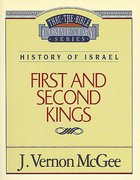 Thru the Bible OT #13: 1 & 2 Kings (#13 in Thru The Bible Old Testament Series) Paperback